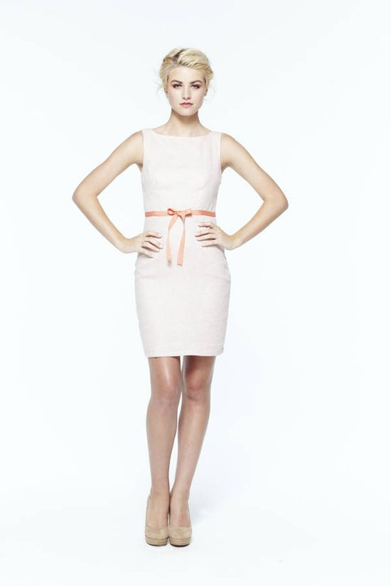 paper crown: fairfield dress with bow