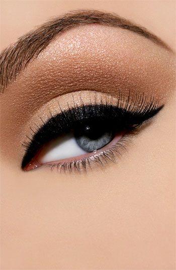 shimmering eyes - love this look
