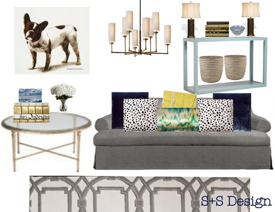 sadie + stella. living room design