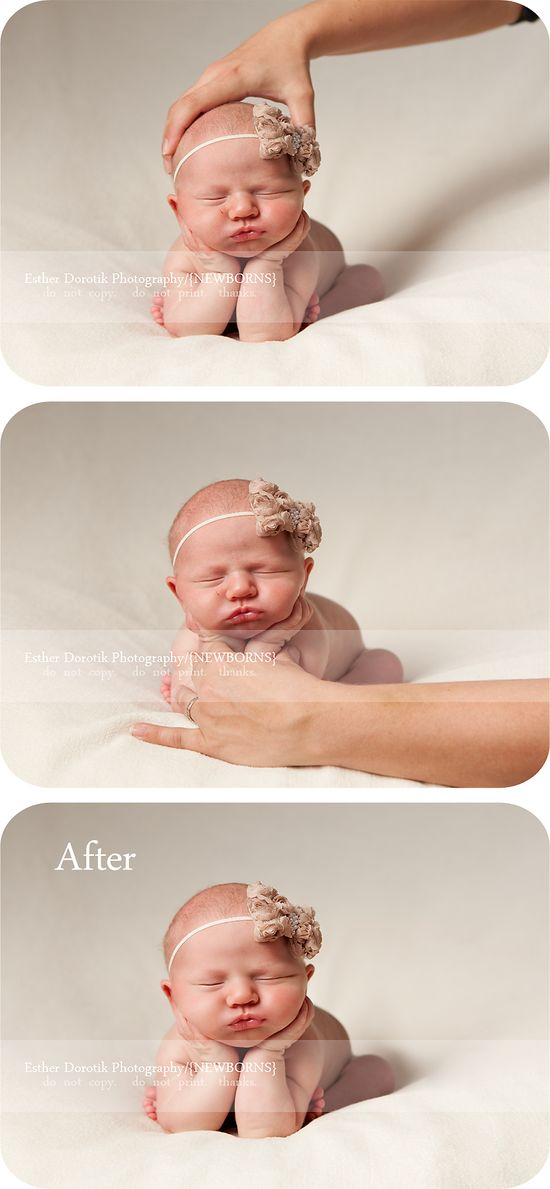 Dallas Newborn Photographer / Newborn Safety Week / Before and After