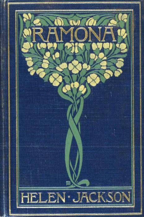 Beautiful Art Nouveau book cover.