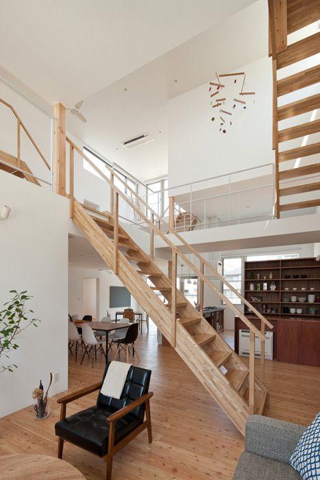 #decoration #wood #stairs #maison