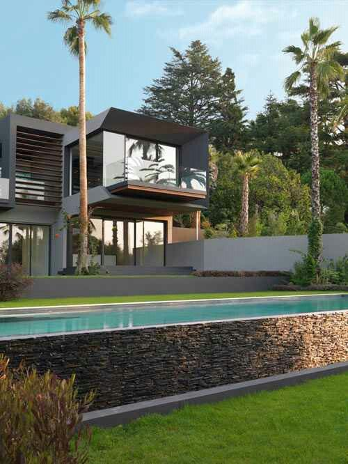 Wicked modern home design w/pool ~