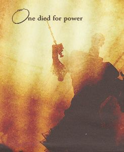 One died for power...