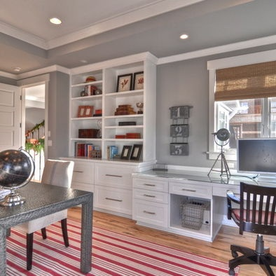 Traditional Home Office Design, Pictures, Remodel, Decor and Ideas - page 6
