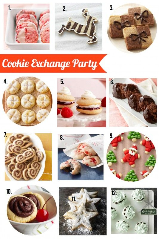 Host a Cookie Exchange Party! Make cooking baking fun this year! Try one of these fabulous recipes from BHG!!