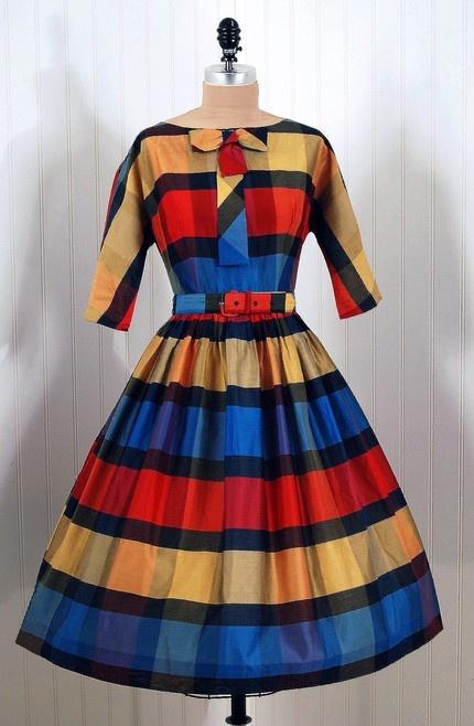 1960's Dress. Great fabric!