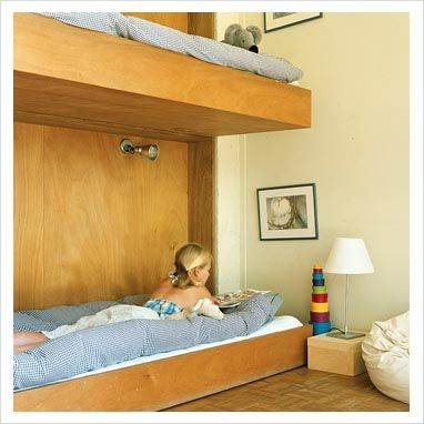 I have always thought this type of bed would be great for kids that hate to make their own bed!!