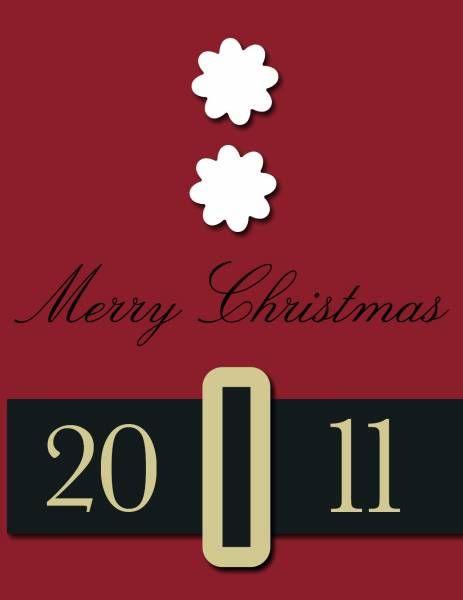 Great Christmas card idea.