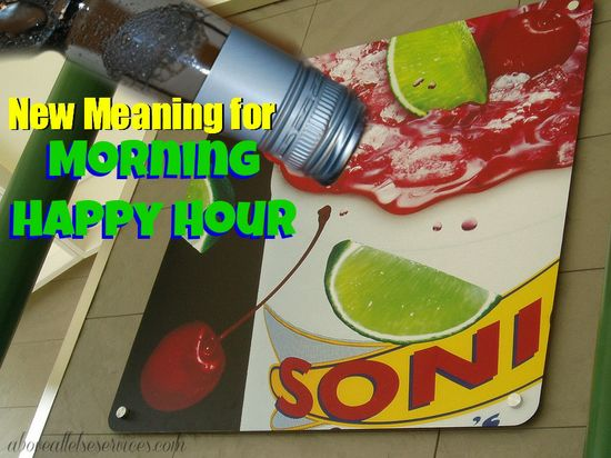 "New Meaning for ""Morning Happy Hour"" a funny story about a stressed out mom and her unusual sonic order!   www.aboveallelses..."