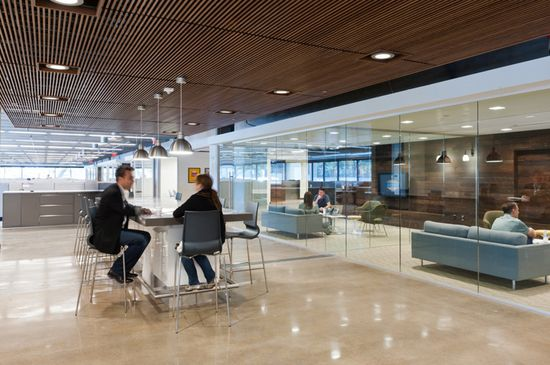 Fossil headquarters by Corgan Associates, Richardson   Texas office design