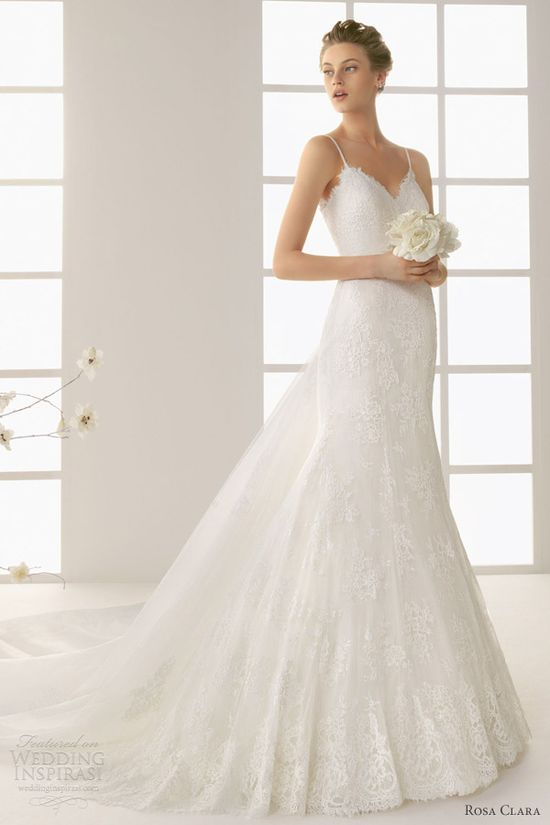 rosa clara 2013 damaris taffeta lace wedding dress