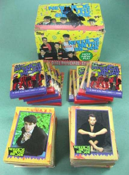 New Kids on the Block trading cards!!!