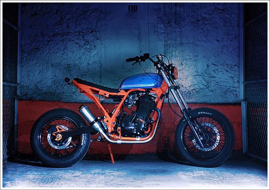 1994 Suzuki DR650 Street Dracker - Blitz Motorcycles - Pipeburn - Purveyors of Classic Motorcycles, Cafe Racers & Custom motorbikes
