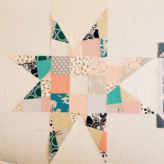 Scrappy Star by Amber