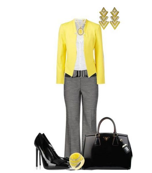 Cute work outfit!