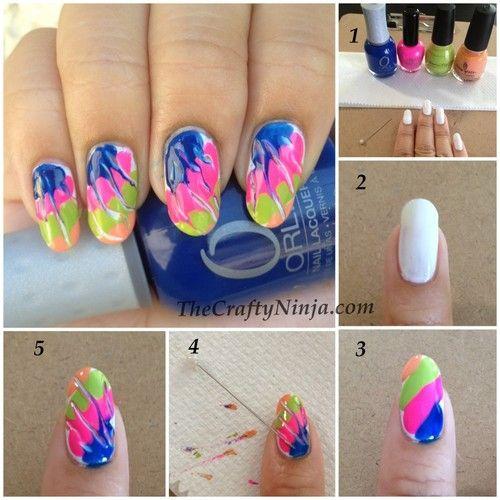10 Creative Nails Tutorials