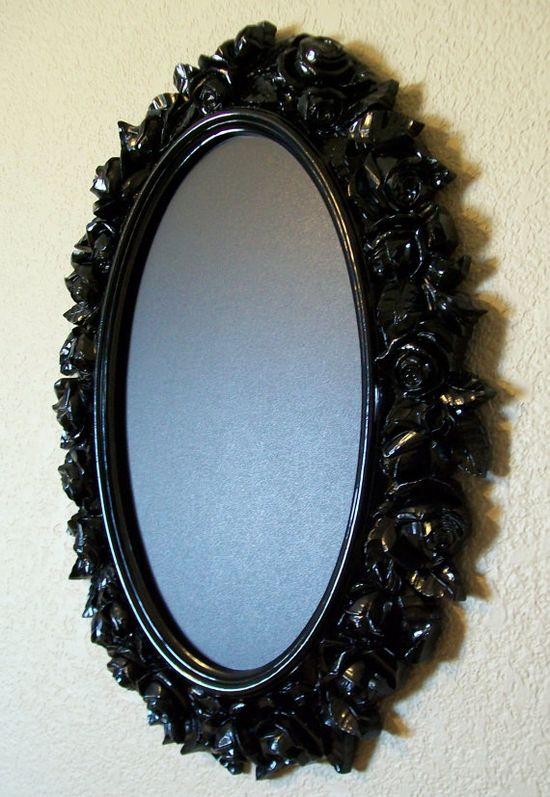 Rose Frame-Baroque Ornate Vintage Framed Chalkboard & Wall Mirror