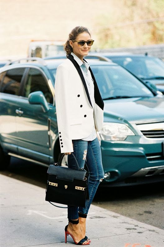 New York Fashion Week SS2014....Olivia Palermo