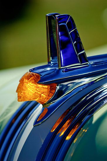 "1953 Pontiac ""Chief"" Hood Ornament"