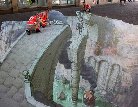 3D Street Art by Eduardo Relero
