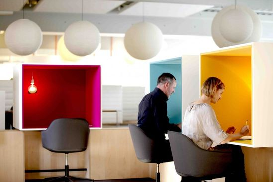 Citizen Office - Vitra's own office on the vitra Campus in Weil am Rhein, Germany, near to Basel