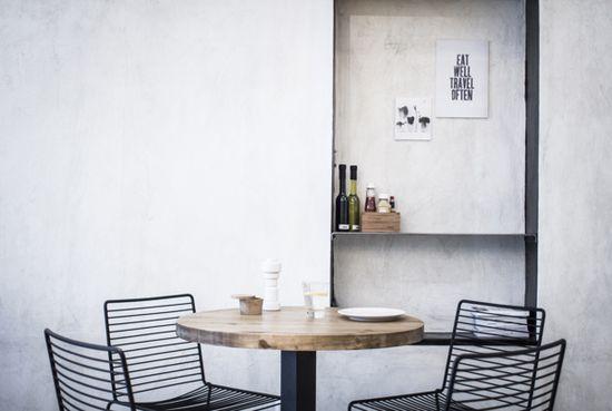 Industrial, black, wood, chair, HAY