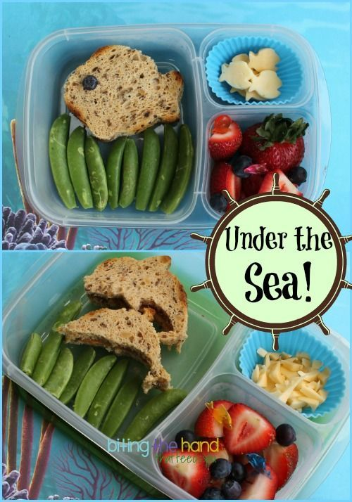Under the Sea Lunch #organic health #health food #better health naturally #healthy eating