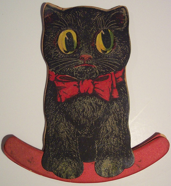 Vintage Halloween  Black Cat Rocker by riptheskull, via Flickr