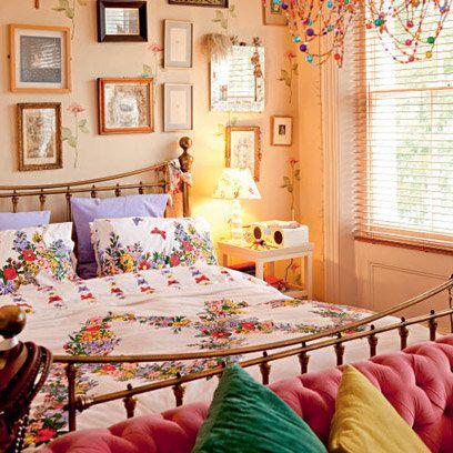 Lovely India's bedroom.