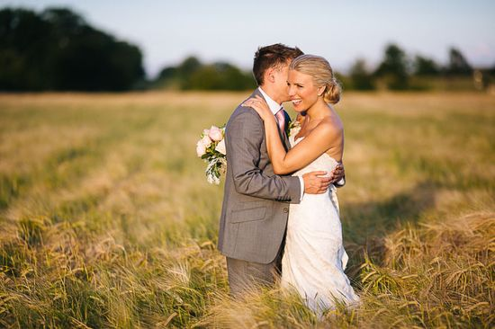 caswell house wedding photo cornfield