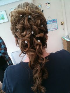 Wedding Hair styling by Fordham Hair Design Gloucestershire  ... Manor By The Lake Wedding Hair Styling