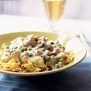 20-minute Chicken Cordon Bleu Pasta