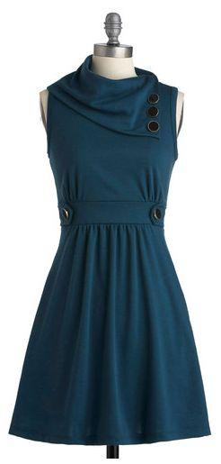 Coach tour dress in blue
