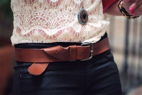 Lace & Belt