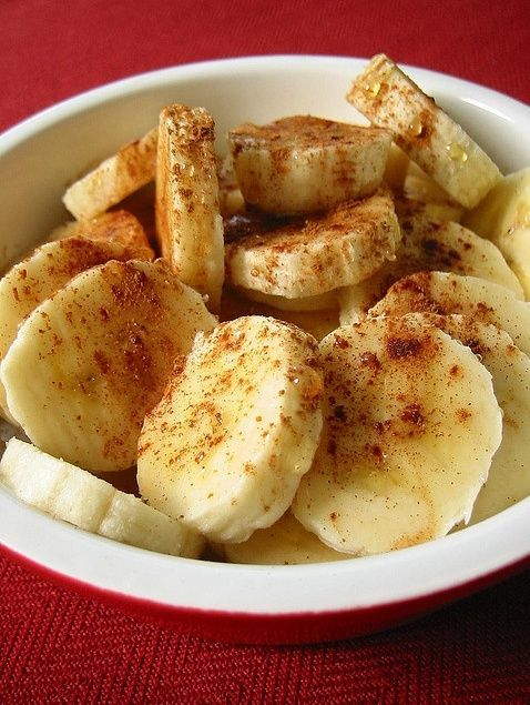 Baked Bananas With Honey & #health Dessert #healthy Dessert #Dessert