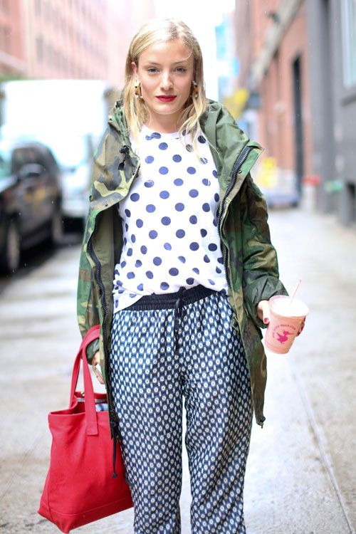 The Rain Room: Street Style Resort 2014