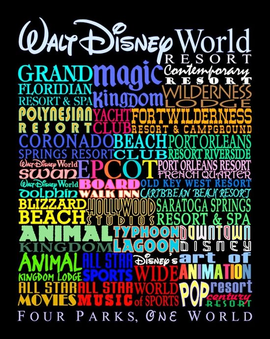 Disney World Attractions & Hotels
