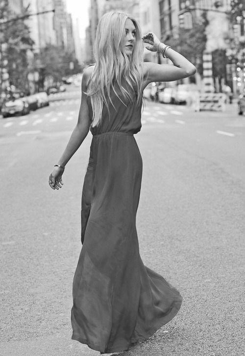 Keep it SIMPLE-  maxi dress