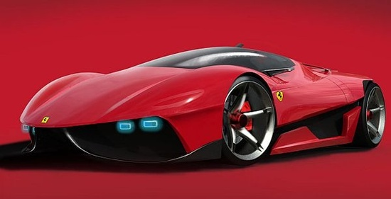 Cars Concept Ferrari EGO  for 2025