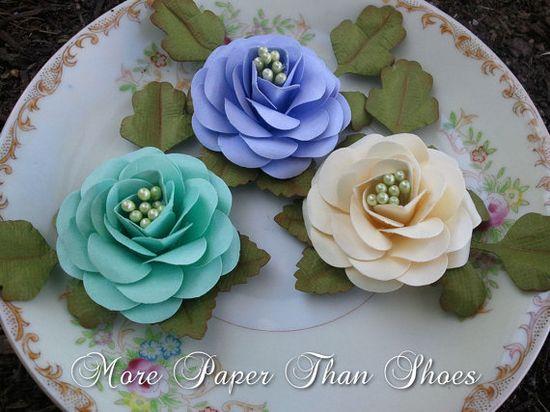 Handmade Flower Spray Trio Set