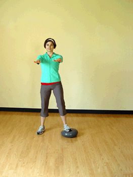 Challenge your balance and tone your entire lower half with this move!