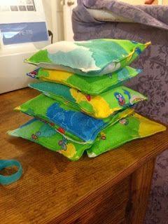 Do-It-Yourself Danielle: Bean Bags for Bean Bag Toss