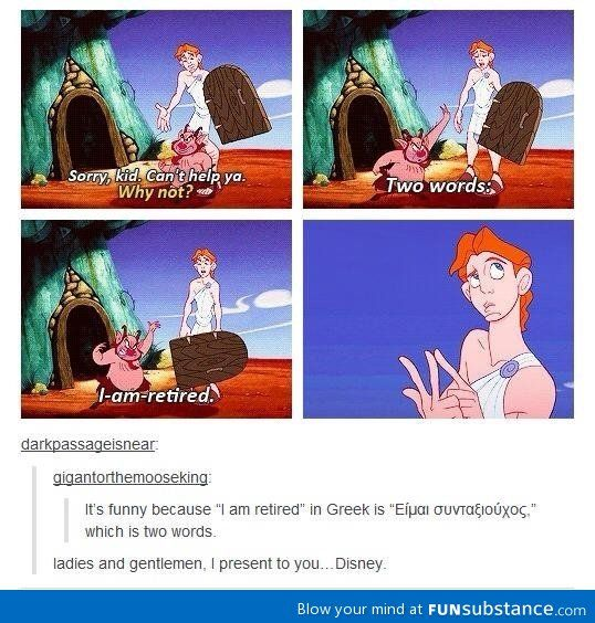 Disney, everyone.
