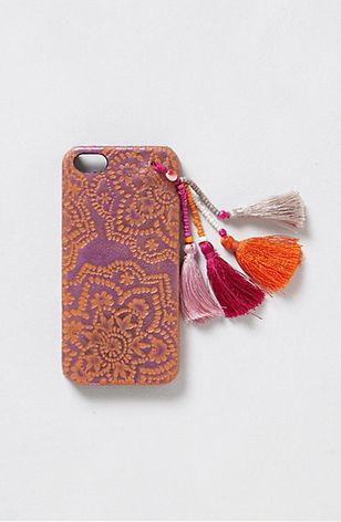Tasseled iPhone 5 Case via Anthropologie