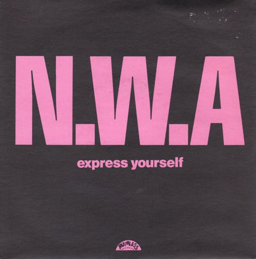 #nwa #poster #expressyourself Express yourself.