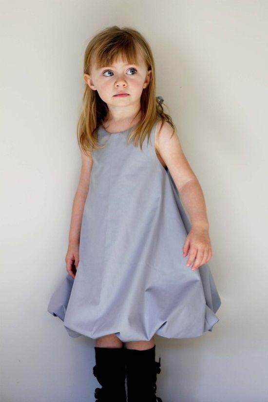 bubble dress for the littles • pattern pdf • heidiandflynn