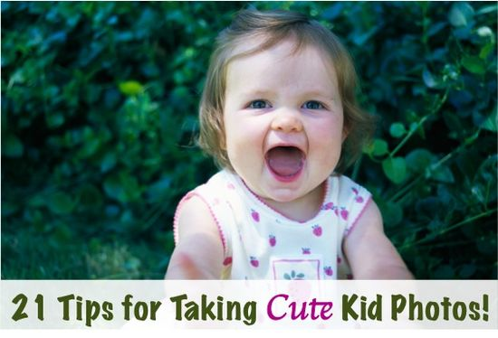21 Tips and Tricks for Taking Cute Kid Photos! via TheFrugalGirls.com #photography