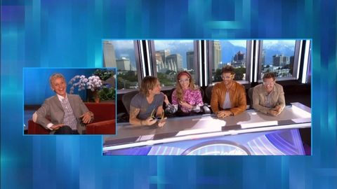 'American Idol's' New Judges' Table -- Live!