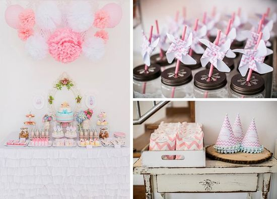 Pastel Milk and Cookies Party with So Many Really Cute Ideas via Kara's Party Ideas